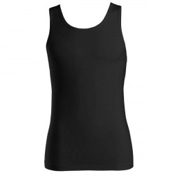 Hanro Cotton Superior Tank Top - Black * Kampagne *