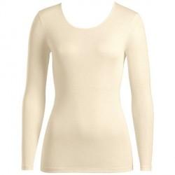Hanro Pure Silk LS Shirt - Champagne * Kampagne *