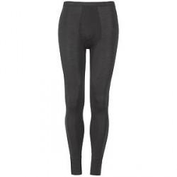 Hanro Woolen Silk Long Leg Underwear - Black - Large