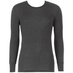 Hanro Woolen Silk Long-sleeved Shirt - Black * Kampagne *