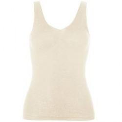 Hanro Woolen Silk Tank Top 263 - Ivory - Small