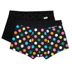 Happy socks 2-pak Big Dot Trunks - Black * Kampagne *
