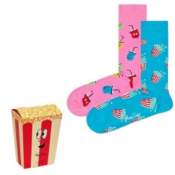 Happy socks 2-pak Snacks Gift Box - Mixed * Kampagne *