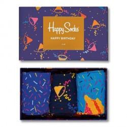 Happy socks 3-pak Birthday Gift Box - Mixed * Kampagne *