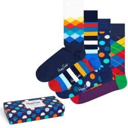 Happy socks 4-pak Mix Socks Gift Box - Mixed * Kampagne *