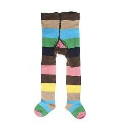 Happy socks Stripe Tights Pink - Pink - 12-18 mån * Kampagne *