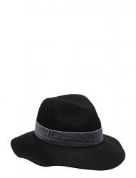Hat With Velvet Band