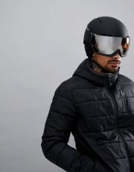 Head Knight Ski Helmet In Black - Black