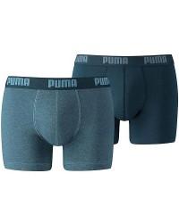 HEAD, PUMA PUMA Basis Boxer Shorts 2-pak i Denim-Farve 521015001 162