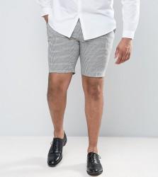 Heart & Dagger PLUS Smart Shorts in Summer Dogstooth - Grey
