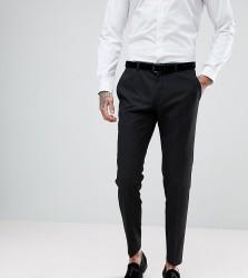 Heart & Dagger Skinny Suit Trousers - Black
