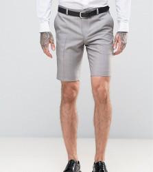 Heart & Dagger Smart Summer Wedding Shorts - Stone