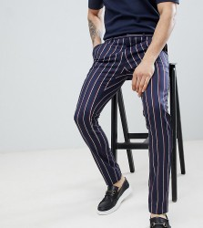 Heart & Dagger Super Skinny Trousers with Side Tape - Navy