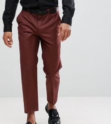 Heart & Dagger Tapered Cropped Trouser - Brown