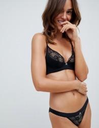 Heidi Klum Intimates tanga lace knickers in black - Black