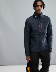 Helly Hansen Crew Neck Insulator Jacket In Navy - Navy
