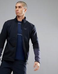 Helly Hansen EQ Black Midlayer Jacket In Black - Black