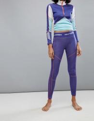 Helly Hansen Lifa Merino Leggings in Purple - Purple