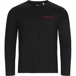HELMUT LANG Oversize fit I01HM507 T-shirts Black