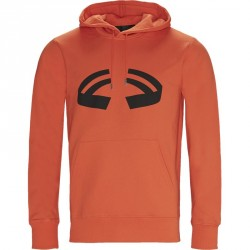 HELMUT LANG Oversized I09PM502 HALOWEEN HOODIE Sweatshirts Orange