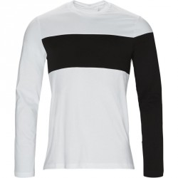 HELMUT LANG T-shirt Whi/blk