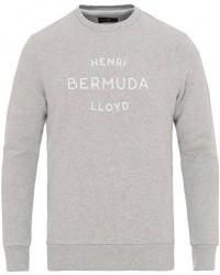 Henri Lloyd Abercraft Logo Crew Neck Sweatshirt Grey