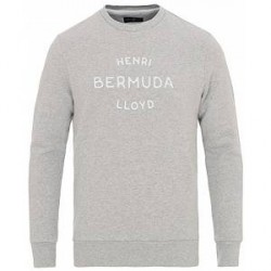 Henri Lloyd Abercraft Logo Crew Neck Sweatshirt Grey