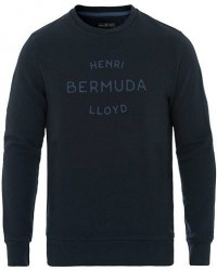 Henri Lloyd Abercraft Logo Crew Neck Sweatshirt Navy