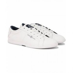 Henri Lloyd Banbury Trainer Leather Sneaker White