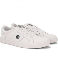 Henri Lloyd Barnes Trainer Leather Sneaker White