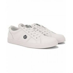 Henri Lloyd Barnes Trainer Leather Sneaker White