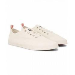 Henri Lloyd Bolton Lace Canvas Sneaker Off White