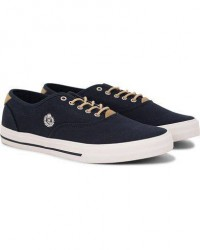 Henri Lloyd Brighton Lace Canvas Sneaker Navy