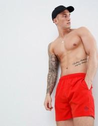 Henri Lloyd Brixham Swim Shorts in Red - Red