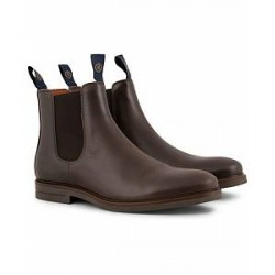 Henri Lloyd Graham Boot Prime Dark Brown Calf