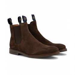 Henri Lloyd Graham Boot Suede Dark Brown Suede