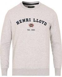 Henri Lloyd Kyme Branded Sweatshirt Grey Marl