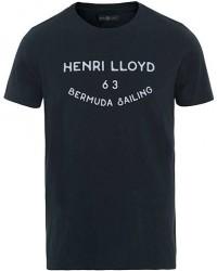 Henri Lloyd Peterlee Logo Crew Neck Tee Navy
