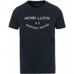 Henri Lloyd Peterlee Logo Crew Neck Tee Navy