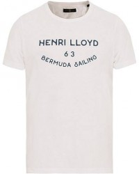 Henri Lloyd Peterlee Logo Crew Neck Tee White