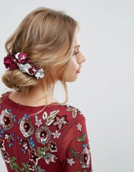 Her Curious Nature Dark Bloom Blossom Clip - Multi