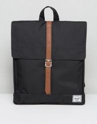 Herschel Supply Co City Backpack in Black - Black