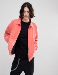 Herschel Supply Co Mod Harrington Jacket in Pink - Pink