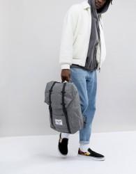Herschel Supply Co Retreat backpack in Crosshatch 19.5l - Grey