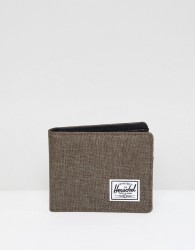 Herschel Supply Co Roy Coin Wallet with RFID - Brown