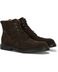 Heschung Ginkgo Boot Dark Brown Suede men UK8 - EU42 Brun