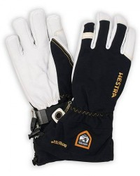 Hestra Army Leather GORE-TEX® Glove Black/White men 8 Sort