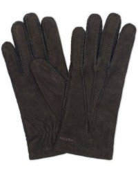 Hestra Arthur Wool Lined Suede Glove Black men 8,5 Sort