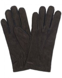 Hestra Arthur Wool Lined Suede Glove Black men 9 Sort