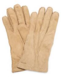 Hestra Arthur Wool Lined Suede Glove Camel men 10 Beige